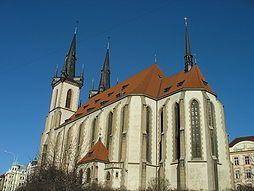 Había una iglesia, que se llamaba kostel sv. Antonína