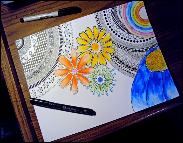 Create your own with this blog's step-by-step instructions. Water Doodle….Numero Uno