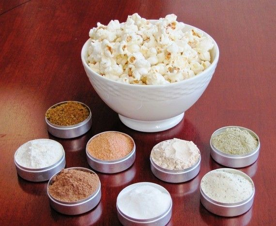 NEW FLAVORS Popcorn spice kit by spicespicebaby on Etsy, $16.00