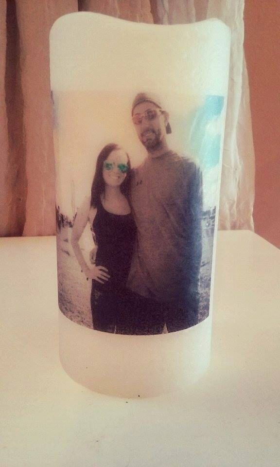 A personal favorite from my Etsy shop https://www.etsy.com/listing/271417413/flame-less-led-photo-pillar-candle