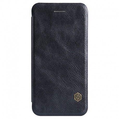 Husa iPhone 7 Plus Flip Nillkin QIN Negru.  Husa iPhone 7 Plus Nillkin Qin, eleganta, protejeaza ecranul, spatele, lateralele si colturile telefonului.  http://catmobile.ro/huse-iphone-7-plus/husa-iphone-7-plus-flip-nillkin-qin-negru.html