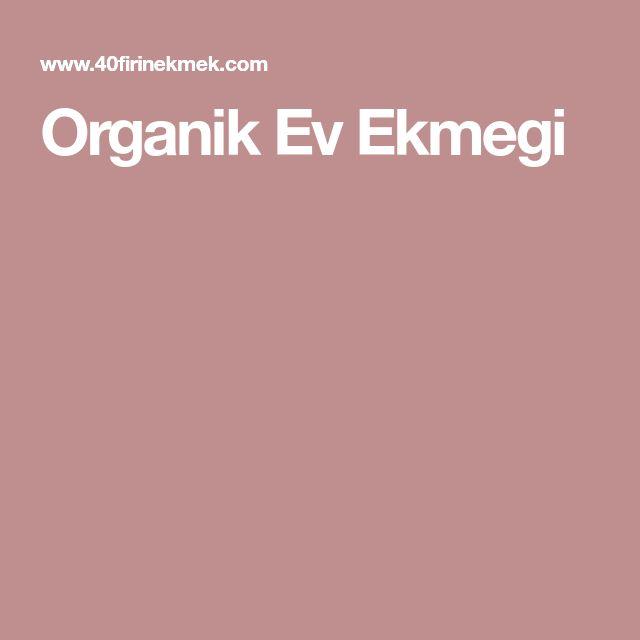 Organik Ev Ekmegi
