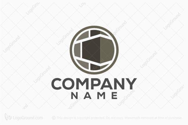 Logo for sale: Corner Stone Black Logo