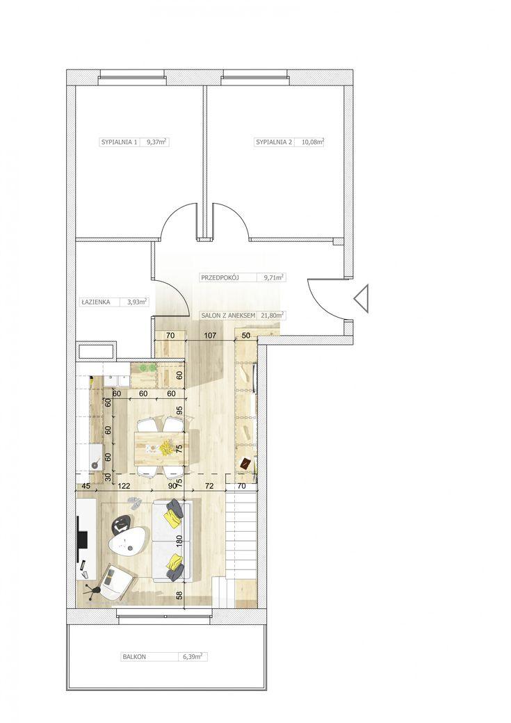 Aranżacje wnętrz. Salon z aneksem pod antresolą; przestrzeń, antresola, wnętrze, projekt, część dzienna; Wiadomości - Serwis DOM i NIERUCHOMOŚCI