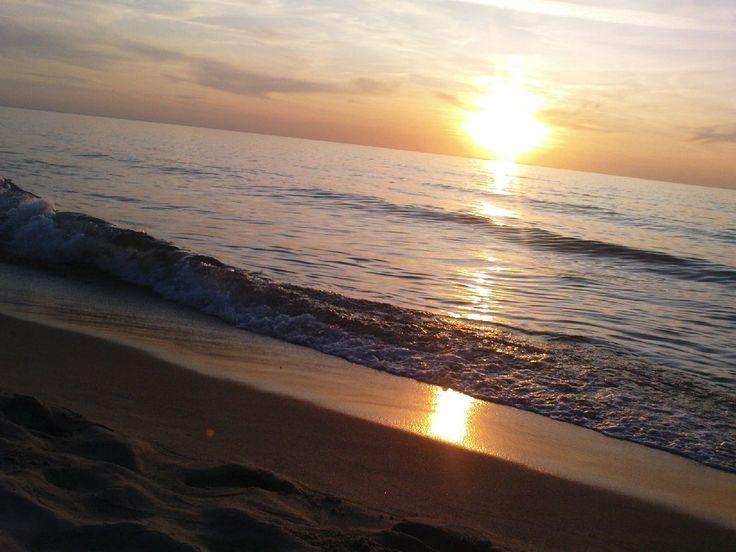 zachody słońca nad Bałtykiem / Darłowo