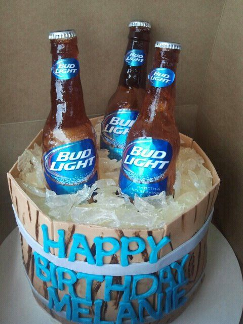 Bud Light Cake Cakes Pinterest Bud Light Galleries