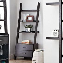 'Hamburg' Leaning Book Shelf With Drawers - Sears http://www.sears.ca/product/hamburg-leaning-book-shelf-with-drawers/601-000801183-I_4_2542
