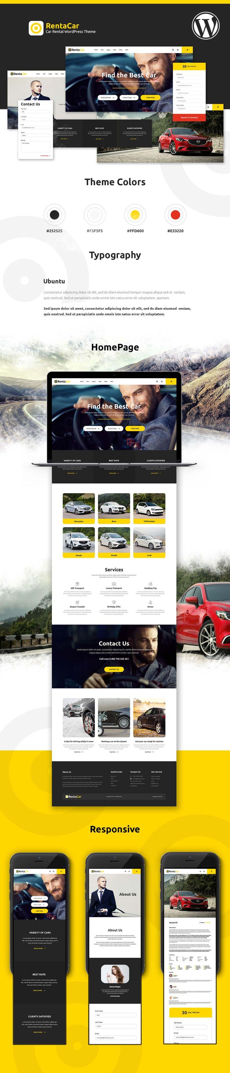 Rentacar - Car Rental / Listing WordPress Theme by modeltheme   ThemeForest