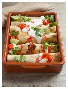 Hairy Bikers low calorie Enchiladas recipe
