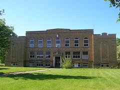 New Carlisle School - New Carlisle, Ohio - abandoned