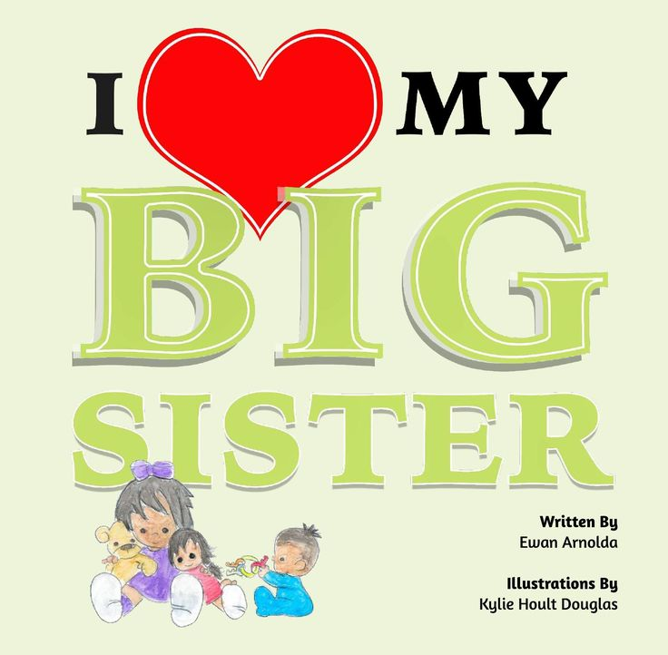 To Buy a Hard Copy from $5.90AUD Click here http://www.peecho.com/print/en/154669  To Buy eBook version for $1.99USD Click here http://au.blurb.com/ebooks/551267-i-love-my-big-sister