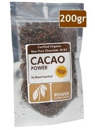 Cacao Power Raw Pure Chocolate Nibs - The mayan superfood!! Available at www.exhilaratehealthandfitness.com