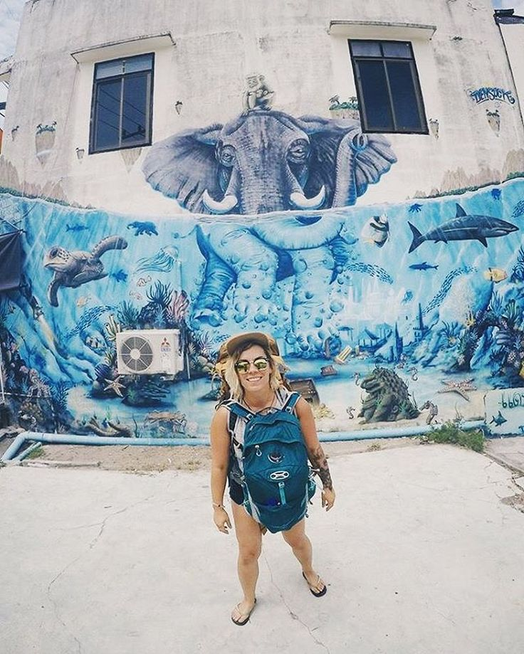 If you haven't already you MUST check out Global Traveller @_beaniesandbikinis blog! So many adventures including her current Global Volunteer Trip in Thailand  ・・・ Cool murals as I leave koh phangan onto more exciting things like volunteering with elephants for a month!  seriously so excited! . . . ----------------------------------------------------- Www.beaniesandbikinisblog.com ----------------------------------------------------- #thailand #kohphangan #palmtrees #islandlife ...