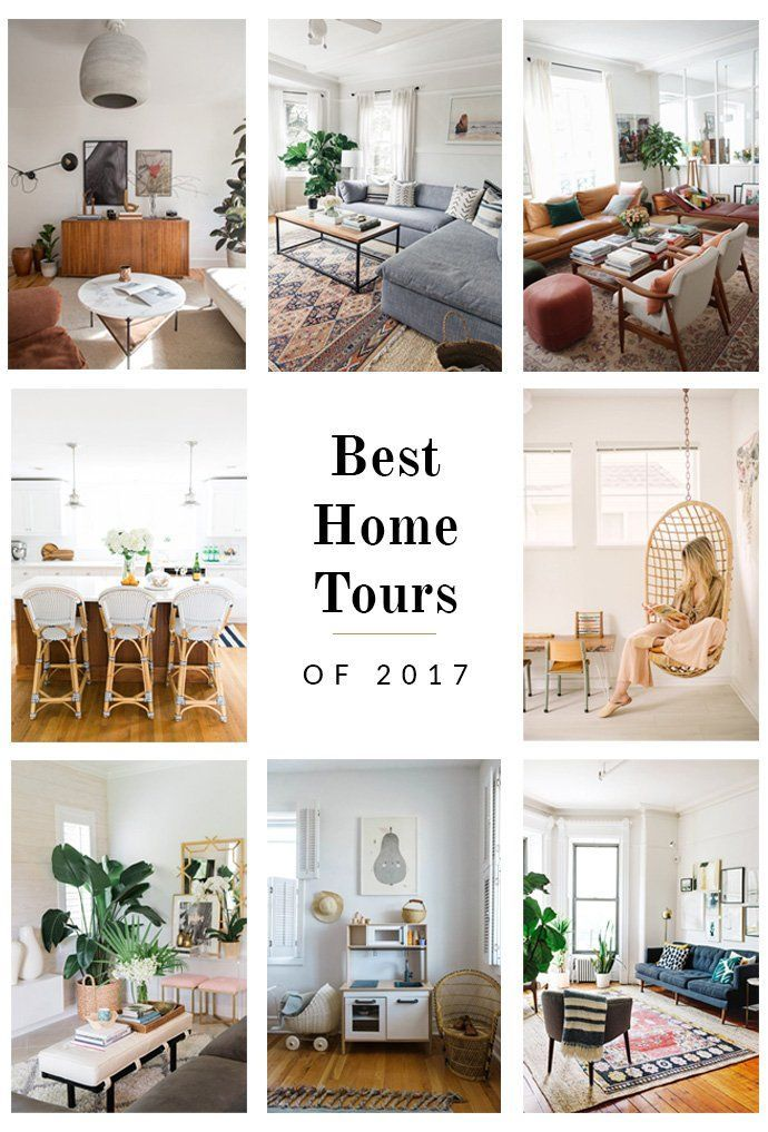 The Best Home Tours Of 2017 Modern Interior Design Home