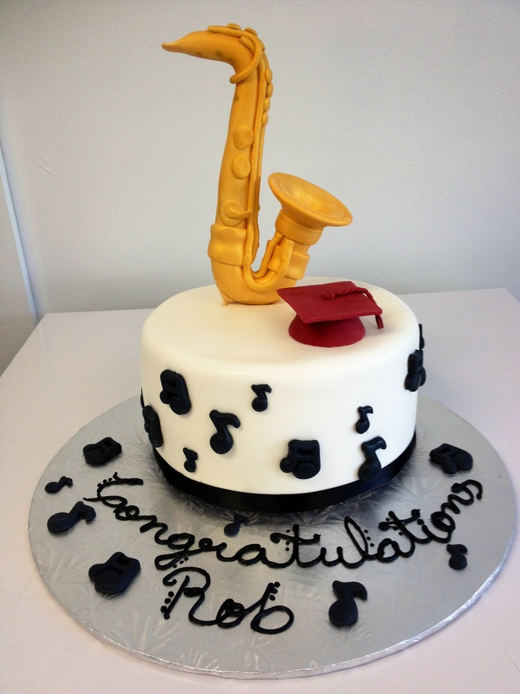 Jazz Birthday Cake Images
