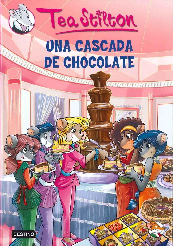 """""""Una cascada de chocolate"""" Tea Stilton"""