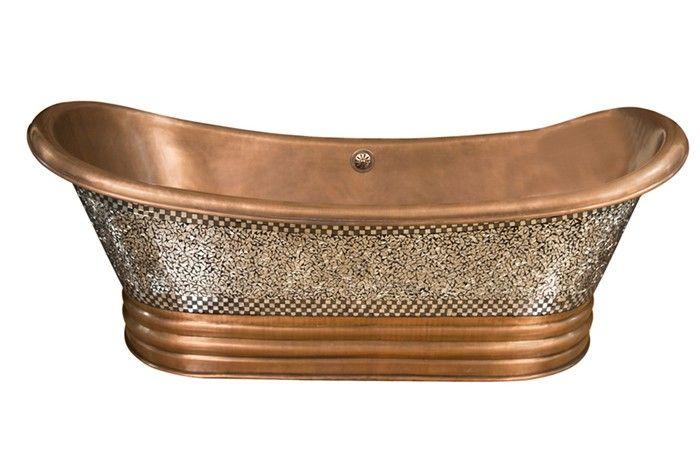 copper bathtub cotdsn68b mo bathtub pinterest
