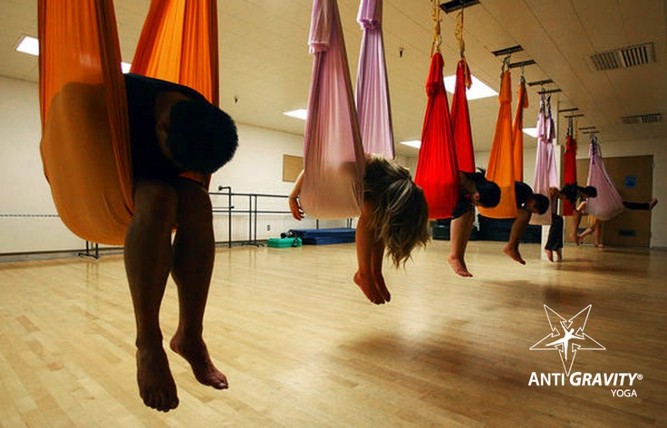 College students take to AntiGravity to relieve stress. Westminster College Utah!
