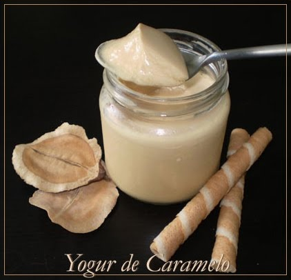 Yogures Caseros: YOGUR DE CARAMELO