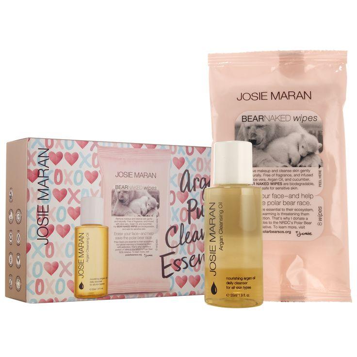 how to use josie maran argan cleansing oil