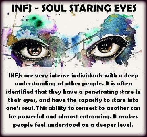 Infj eyes