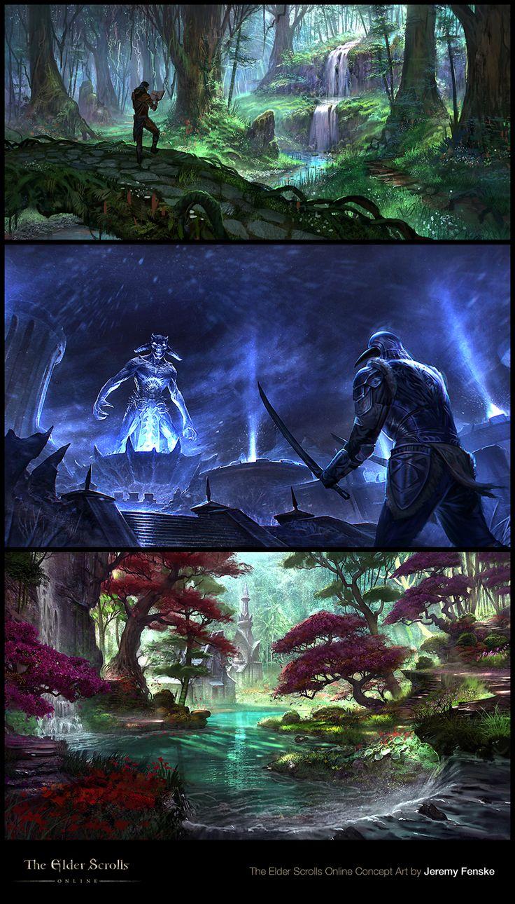 Jeremy Fenske has released more Concept Art for The Elder Scrolls Online! http://conceptartworld.com/?p=17004