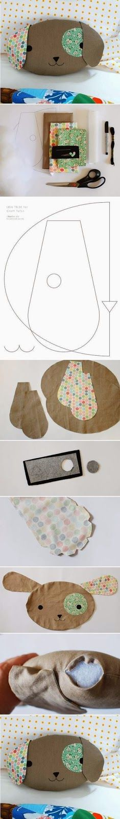 ❣ Little Kimono Handmade ❣ : DIY Cojín de Cachorro