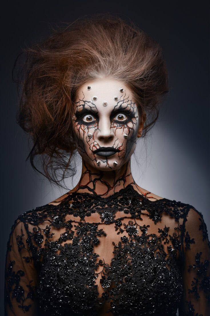 Halloween Makeup Daring Looks Witch face paint