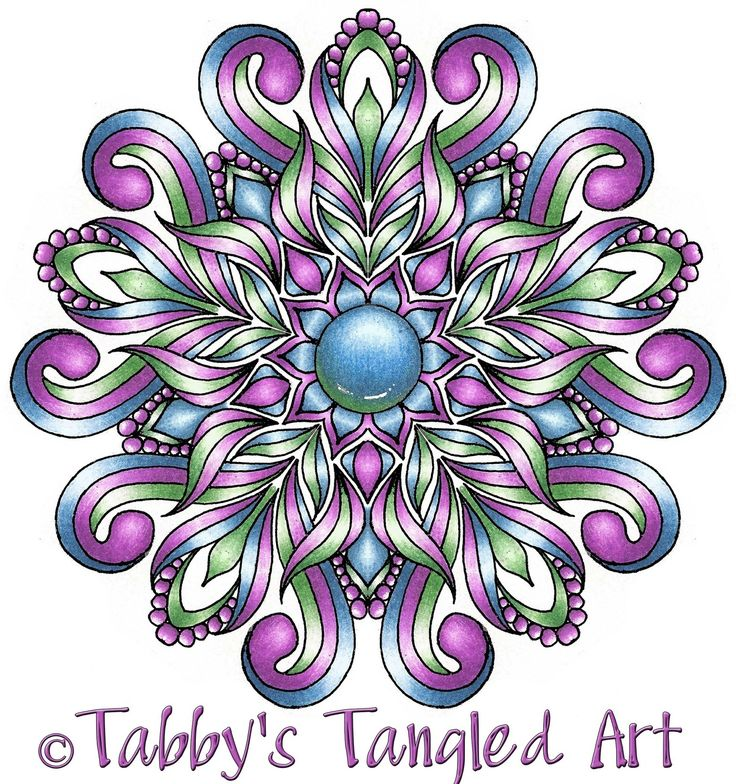 Floral Mandalas Coloring Pages (10 NEW mandalas) PAY WHAT YOU WANT for these beautiful floral mandalas!