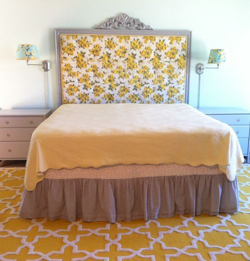 My new vintage headboard (how we did it!) - Stop staring and start sewing!
