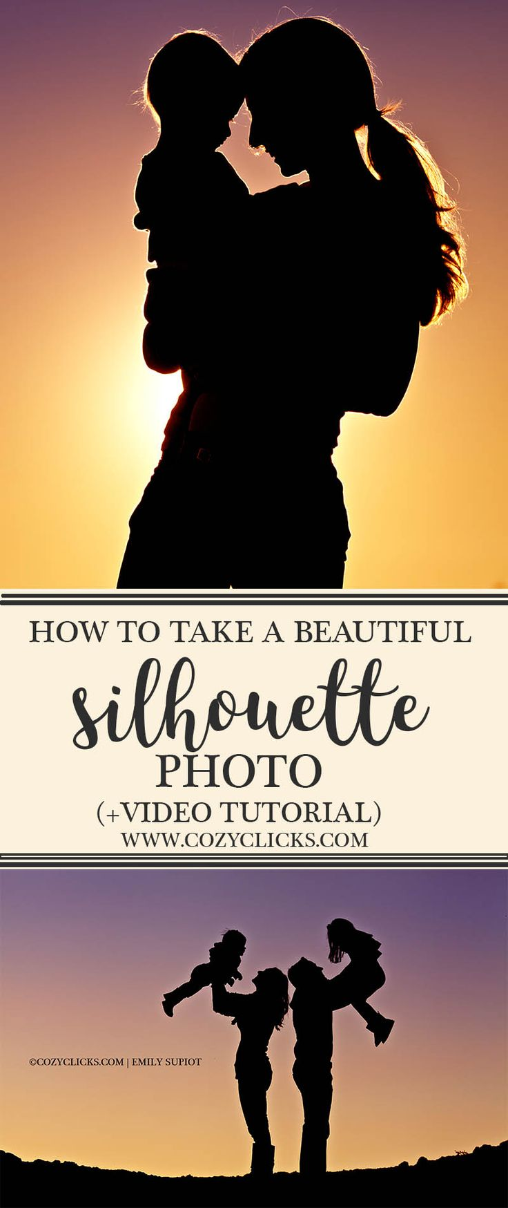 Do you want to know how to take a beautiful silhouette photo? Read here to see how and see a bonus video tutorial!
