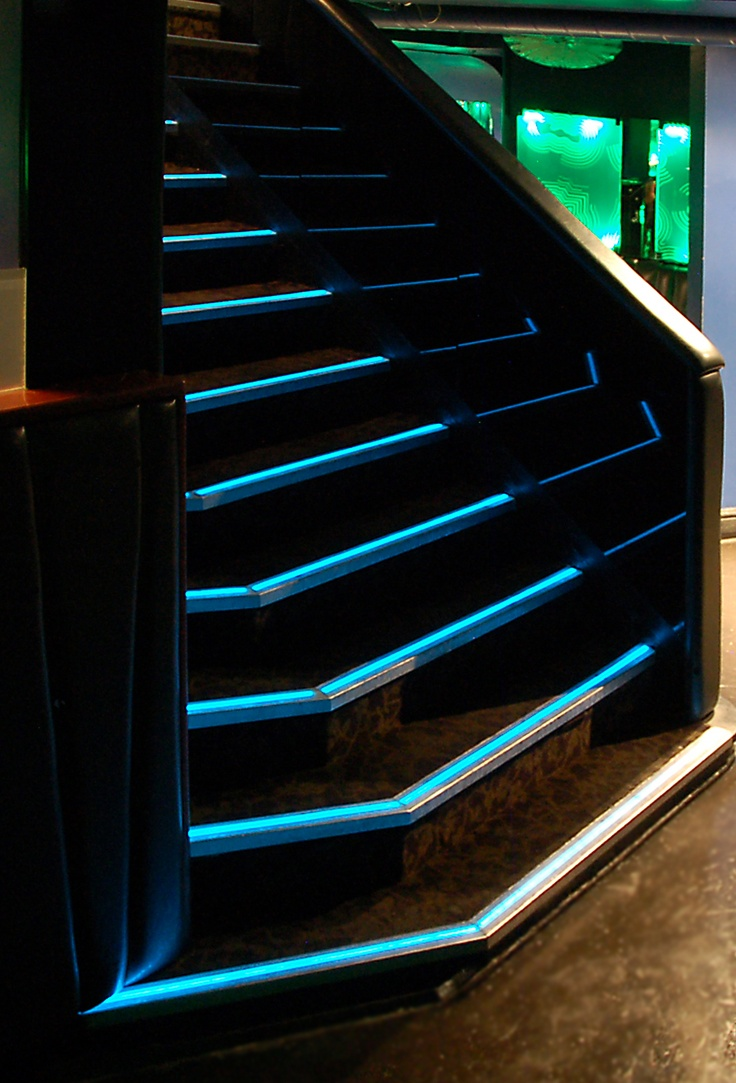 Lighting Basement Washroom Stairs: 37 Best Images About Lighted Stairs On Pinterest