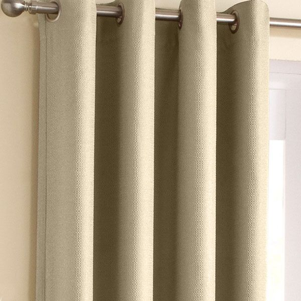 Wetherby Cream Eyelet Block Out Curtains | Eyelet Curtains | Curtains | linen4less.co.uk