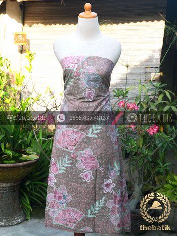 Kain Batik Emboss Motif Kontemporer Abu-Abu Pink | Unique #Indonesia #Batik #Fabric Pattern Design http://thebatik.co.id/kain-batik-bahan/