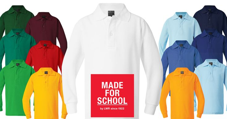 Keep colour in your winter with our Lord Classic Long Sleeve Polo, available in 14 colours so your day will never be grey.