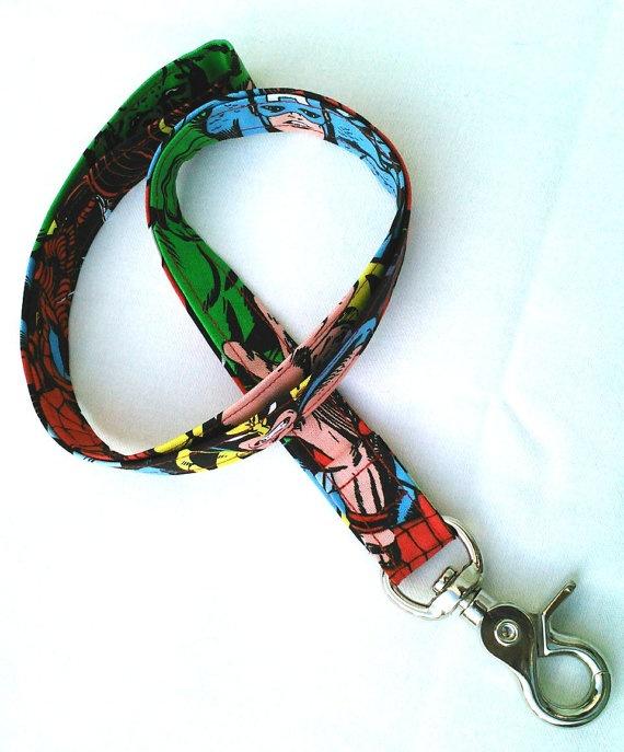 Marvel Heroes ID Badge Lanyard - Key Chain Lanyard Bright Wolverine Avengers