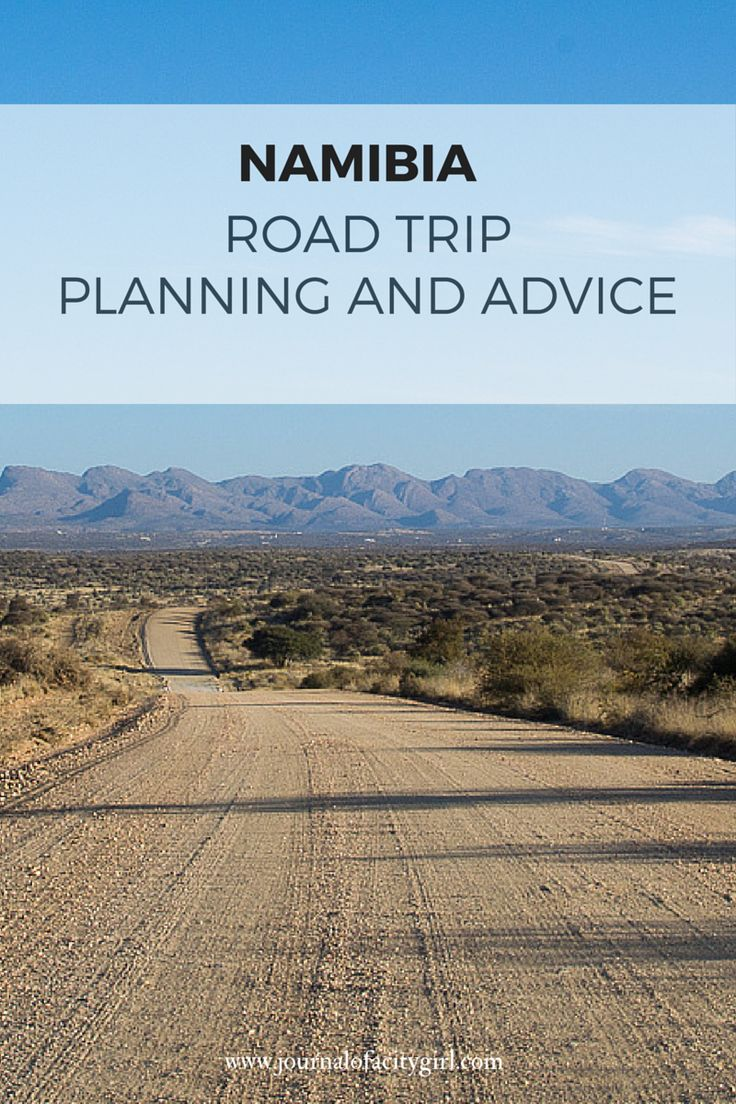 Namibia road trip planning and advice
