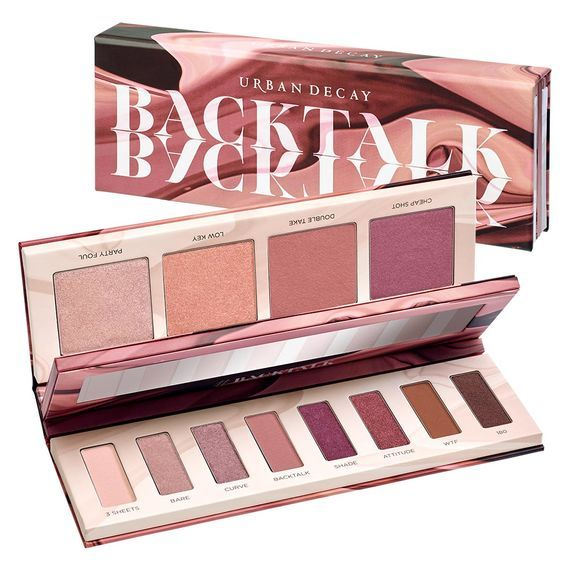 Urban Decay Backtalk Palette is Coming Soon! And I Can't Wait! Nude mauves, soft berries and muted rose shades? Yes those are gorgeous on me!