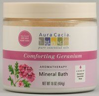 Heart Song Min Bath 16 oz. 16 Ounces by Aura Cacia. $8.99. Serving Size:. 16 Ounces Powder. Heartsong Mineral Bath contains a blend of sensuous rose, balancing geranium, peaceful rosewood and calming lavender.. Save 25%!