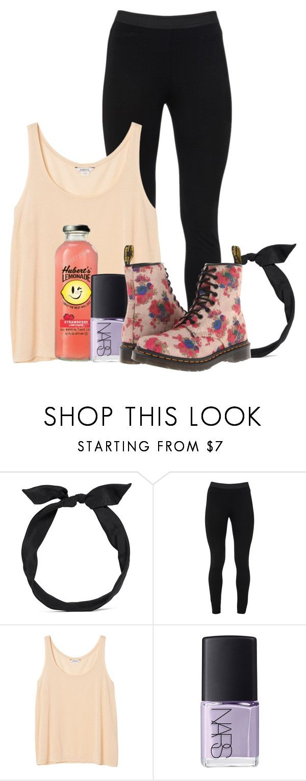 """100 Day Challenge; Day 75; First Day of Spring"" by arowenssymphony ❤ liked on Polyvore featuring yunotme, Peace of Cloth, Monki, NARS Cosmetics, Dr. Martens, women's clothing, women, female, woman and misses"