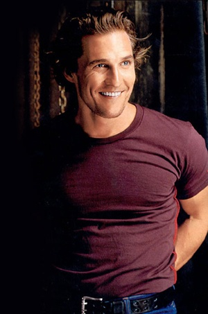 Matthew McConaughey~ He likes me, I just know it!
