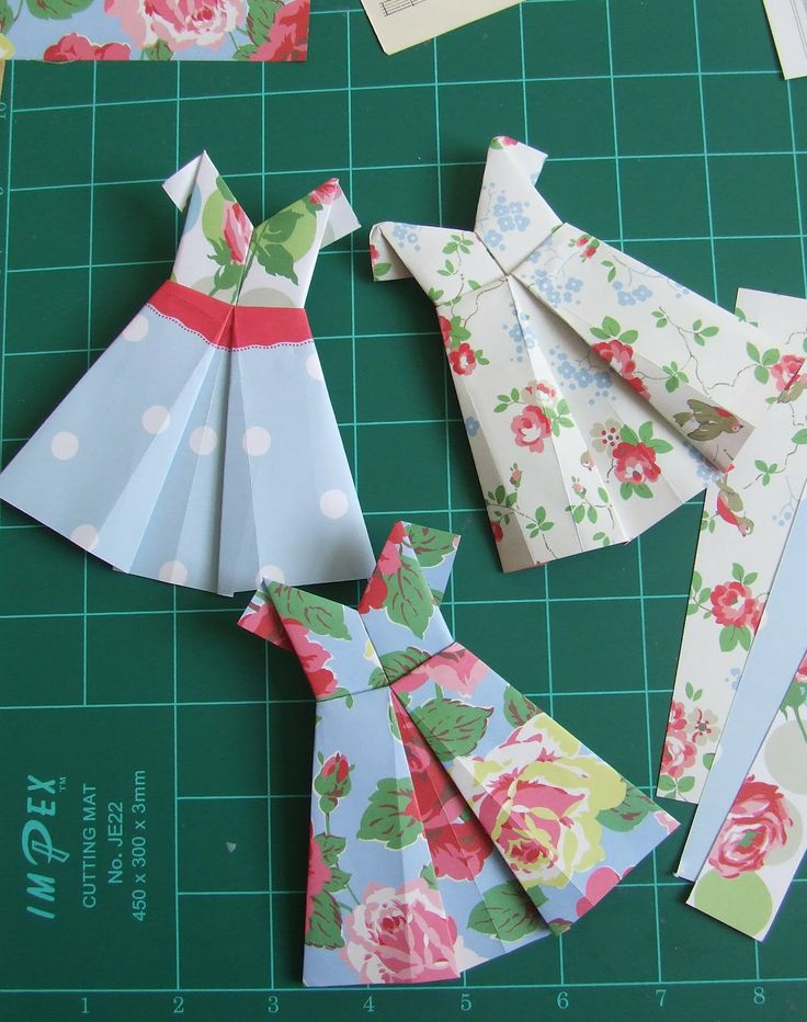 62 best origami dresses images on origami