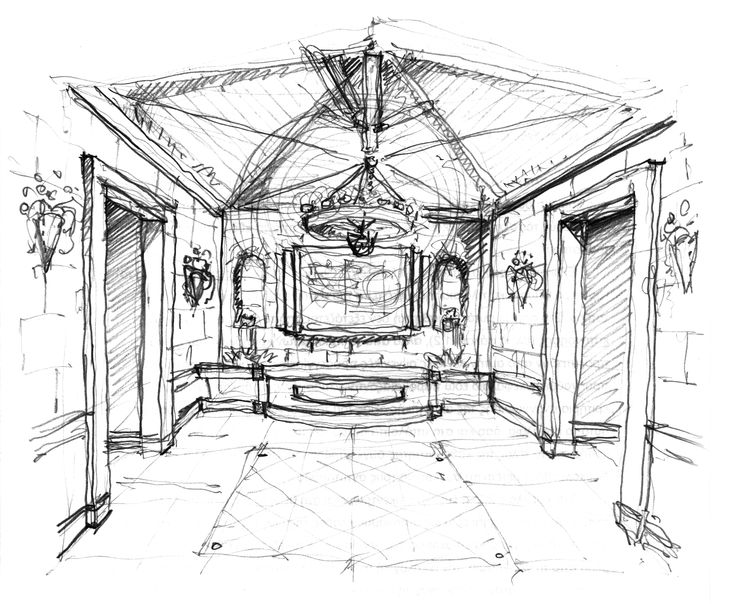 Interior for a private residence in, Greece, 2006. Design by Harry Papaioannou & Associates.