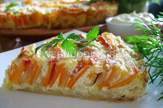 Запеканка из кабачков и моркови в духовке   Как приготовить на Webpudding.ru
