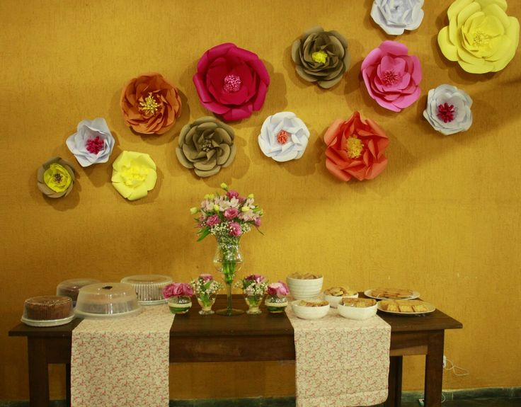 Flores de Papel! Flowers paper