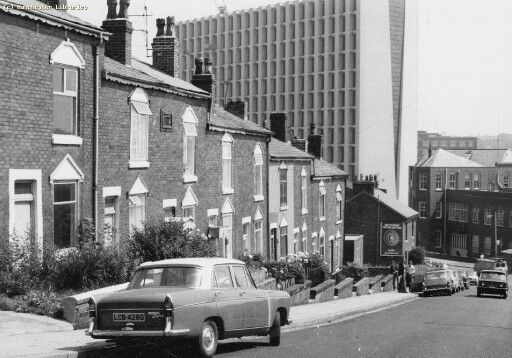 My Uncle Bob that emigrated to Australia in 1970 worked there and I played many a time on that corner where Parkhill Avenue joined Cleveland Rd. ICI view from Cleveland Road, Crumpsall, Manchester.