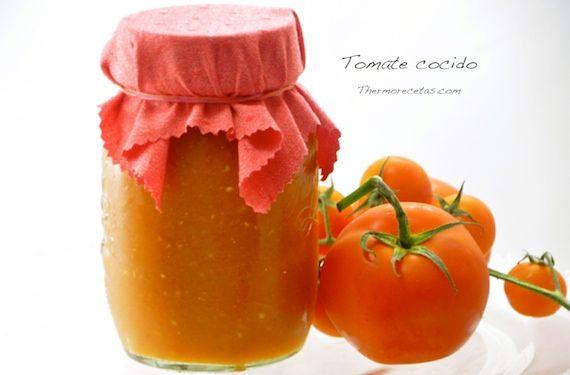"Tomate ""frito"" sin aceite (Tomate cocido apto para conserva) - http://www.thermorecetas.com/2013/08/25/tomate-cocido/"
