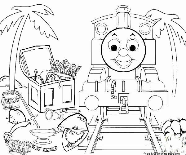 Thomas The Tank Engine Coloring Page Unique Printable Thomas And Friends Coloring Pag Train Coloring Pages Coloring Pages Inspirational Coloring Pages For Kids