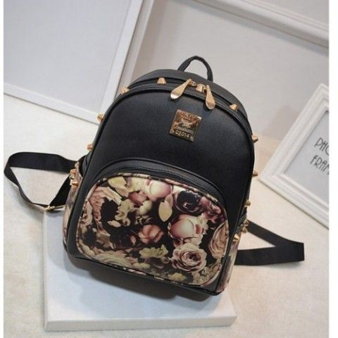 MATERIAL PU LEATHER SIZE LENGTH 26 HEIGHT 27 DEPTH 13 STRAP 82 WEIGHT 600GR AVAILABLE IN BLACK FLOWER PRICE 140K