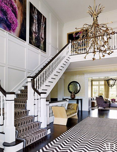 Entrance Hall : A Hamptons Getaway Designed for Outdoor Living : Architectural Digest